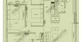 Bán căn 3 ngủ 107m2 tòa CT1B chung cư Panorama Hoàng Mai