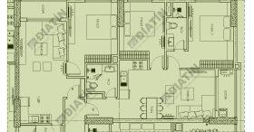 Bán Căn 3 ngủ kép 111m2 tòa CT2 chung cư Panorama Hoàng Mai