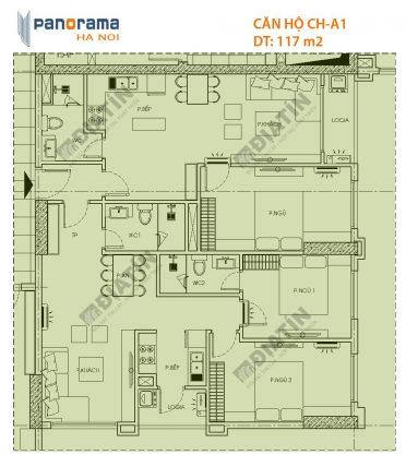 Căn hộ kép (DUAL KEY) là gì? Căn Dual key chung cư Panorama Hoàng Mai.