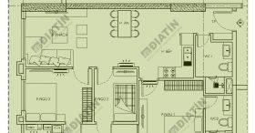 Bán căn 3 phòng ngủ 77m2 tòa CT1A Panorama Hoàng Mai