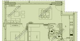 Căn 2 ngủ 75m2 chung cư Panorama Hoàng Mai