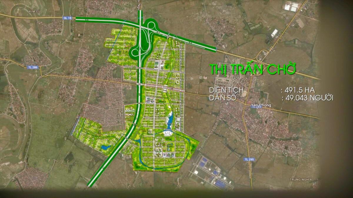 Khu Đô Thị Kim Đô Yên Phong Bắc Ninh