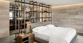 Muôn ý tưởng thiết kế giá kệ đựng đồ trong phòng ngủ