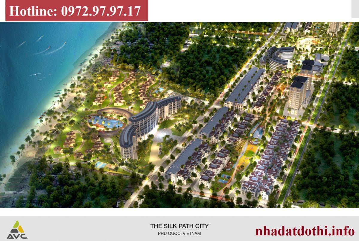 The silk Path City Phú Quốc
