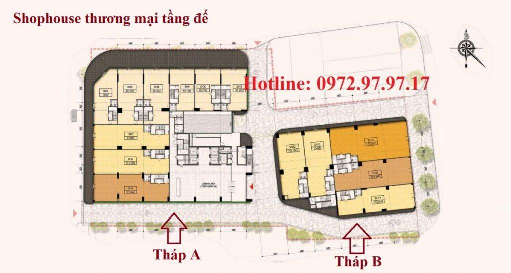 Shophouse thương mại Hà Nội Phoenix Tower Cao Bằng