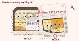 Shophouse thương mại Hà Nội Phoenix Tower