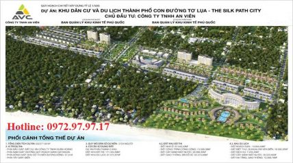 Mặt bằng thiết kế The Silk Path City Phú Quốc