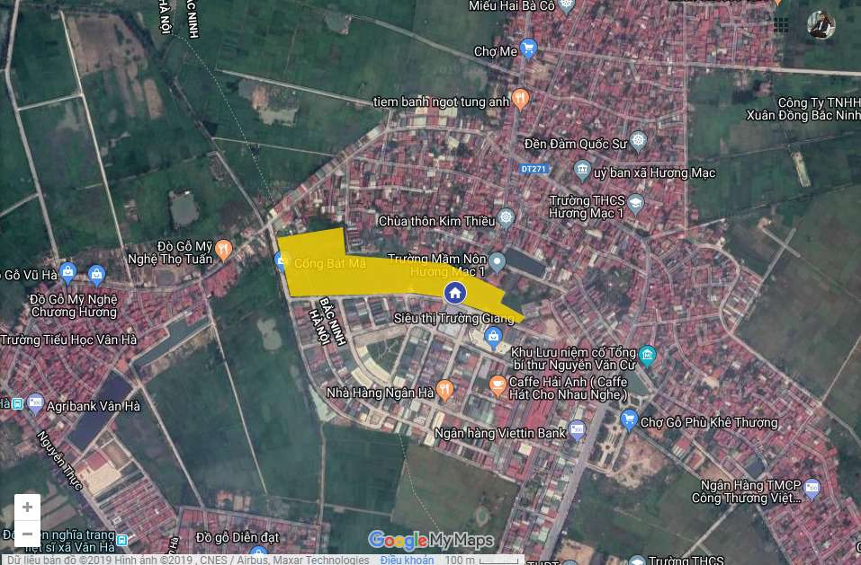 Vị trí dự án Bảo Long City new city