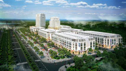 Bán nhà phố dự án Eurowindow Garden City Thanh Hóa, chiết khấu 18%.
