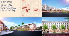 Bán Nhà phố thương mại Shophouse – KĐT Kim Đô Yên Phong Bắc Ninh